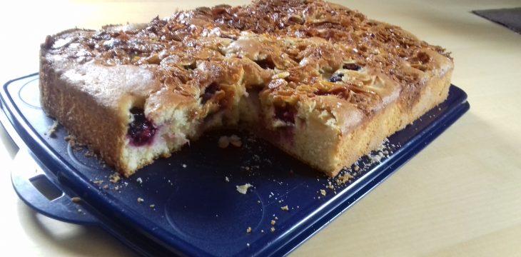 Apfel Brombeer Kuchen – Rezept des Monats August 2017