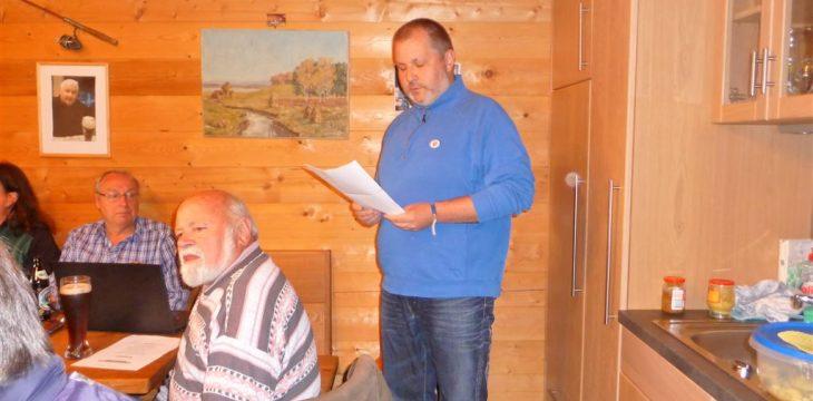 Jahreshauptversammlung 2017 des Fischereivereins