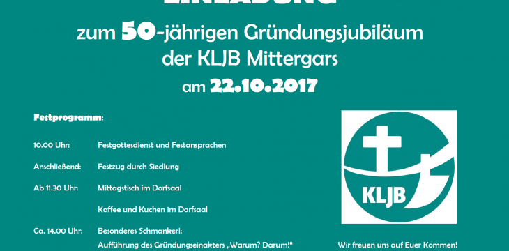50 Jahre KLJB Mittergars