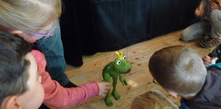 Froschkönig in Mittergars