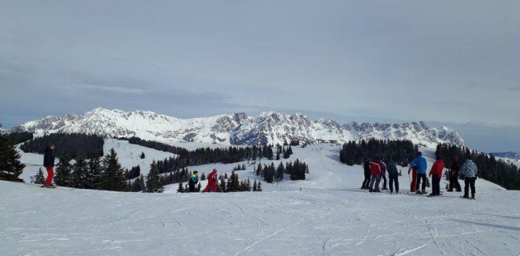 Skifahrt des Theatervereins nach Söll