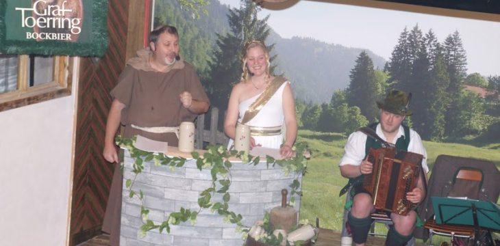 Starkbierfest mit Bruder Barnabas und Mama Bavaria