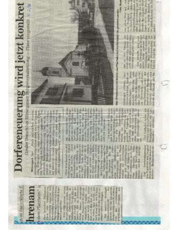 02/98 Dorferneuerung wird konkret
