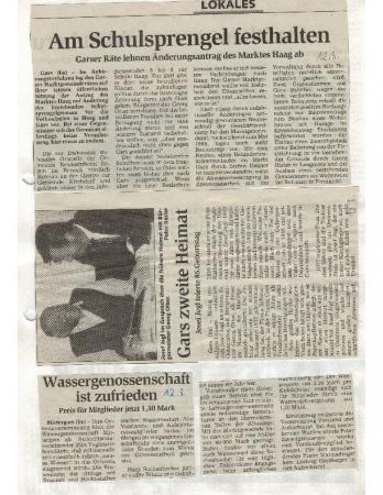 03/98 Wassergenossenschaft ist zufrieden