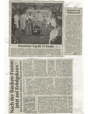 05/98 Erstkommunion in Mittergars