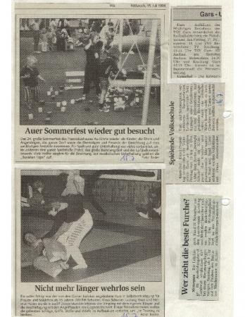 07/98 Wer zieht die beste Furche
