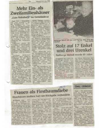 08/99 Frauen als Firstbaumdiebe