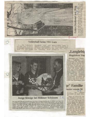 10/99 Magdalena Voglmaier feiert 90