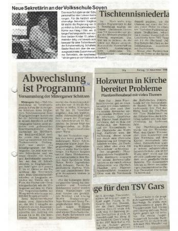 11/98Abwechslung ist Programm