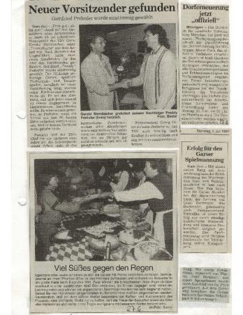 06/97 Dorferneuerung jetzt offiziell