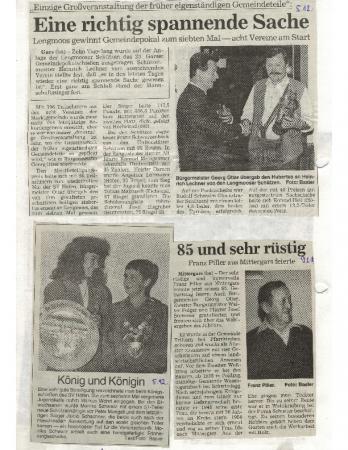12/97 Franz Piller wird 85