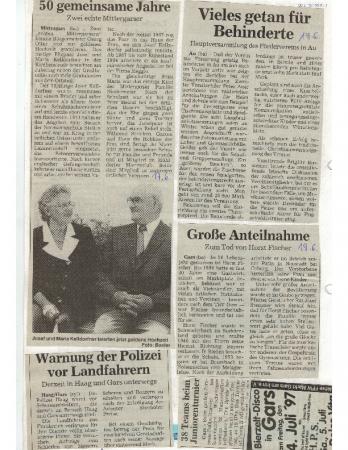 06/97 Goldene Hochzeit Kelldorfner