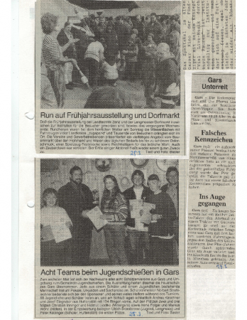 03/97 Jugendschießen in Gars