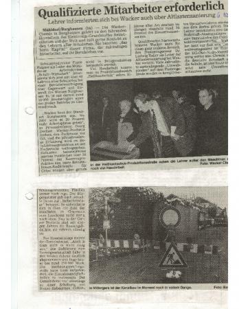 12/97 Kanalbau in vollem Gange