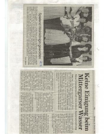 10/97 Keine Einigung beim Mittergarser Wasser