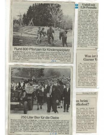 05/97 Maibaumaufstellen