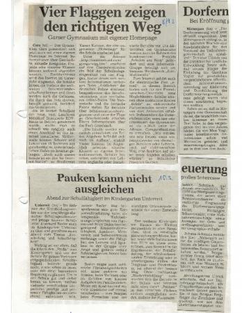 03/97 Start Dorferneuerung
