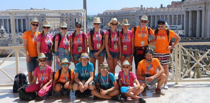 Mini-Wallfahrt nach Rom
