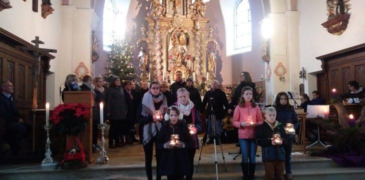"""Weihnachtliches Konzert der """"Rhytmusstörung"""""""