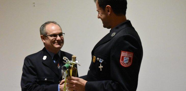 Neue Führung bei der Mittergarser Feuerwehr