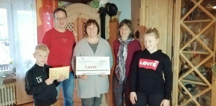 Große Spendenbereitschaft in Mittergars, Haiden und Gars Bahnhof