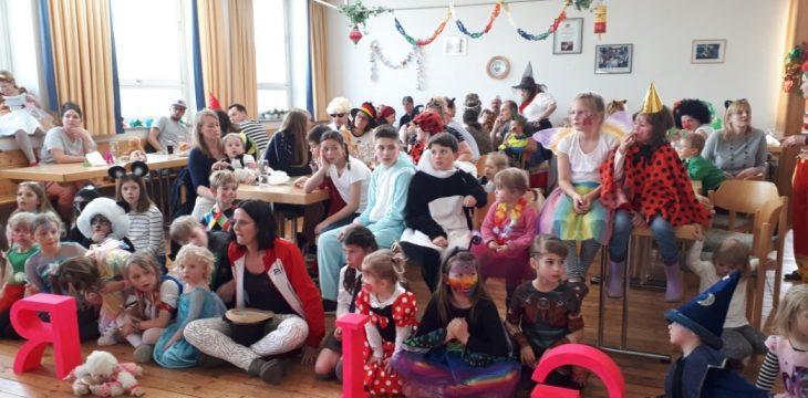 Kinderfasching im Dorfsaal